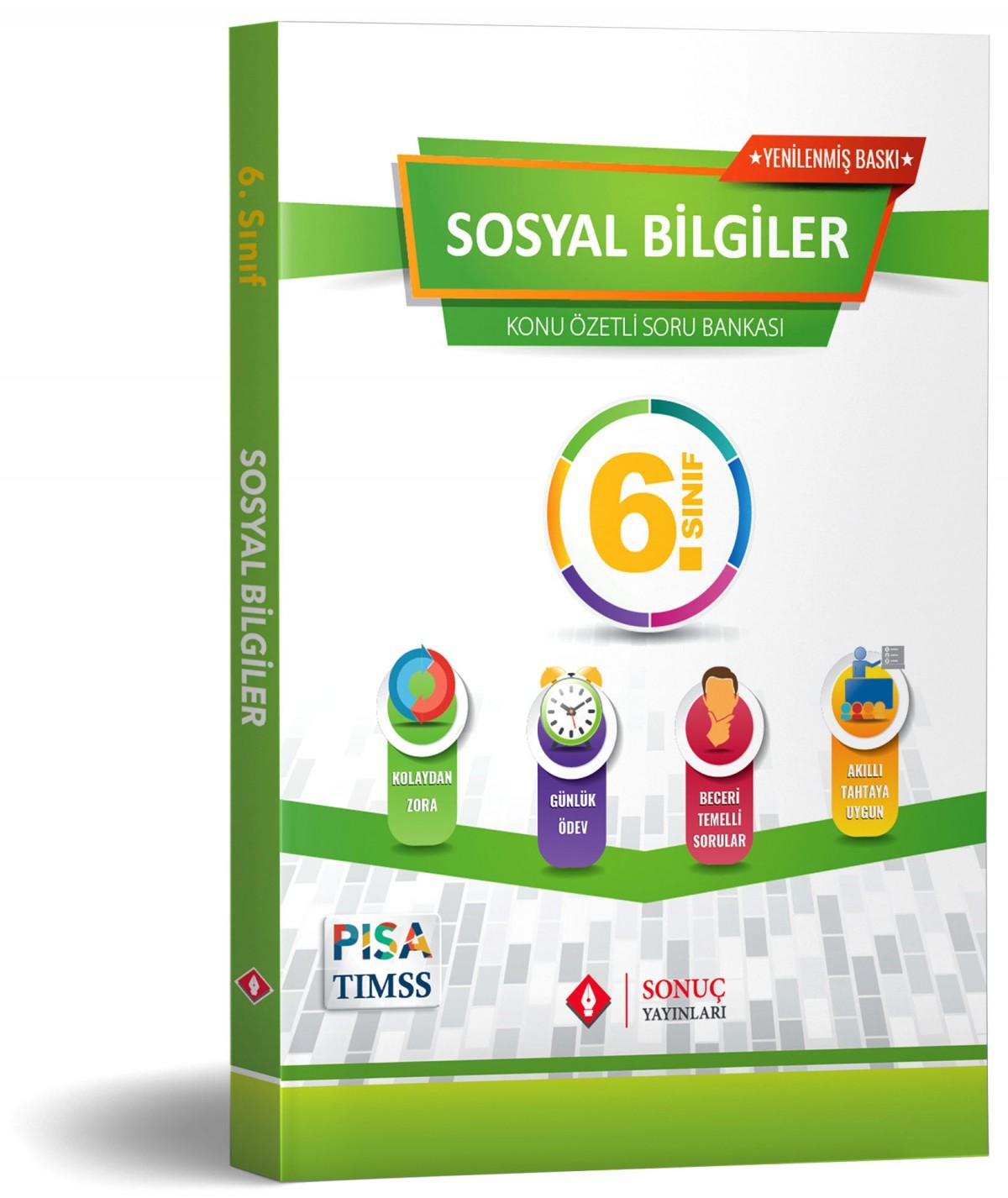 Sonuç Yayınları 6.sınıf Sosyal Bilgiler Modüler Set 2020-2021